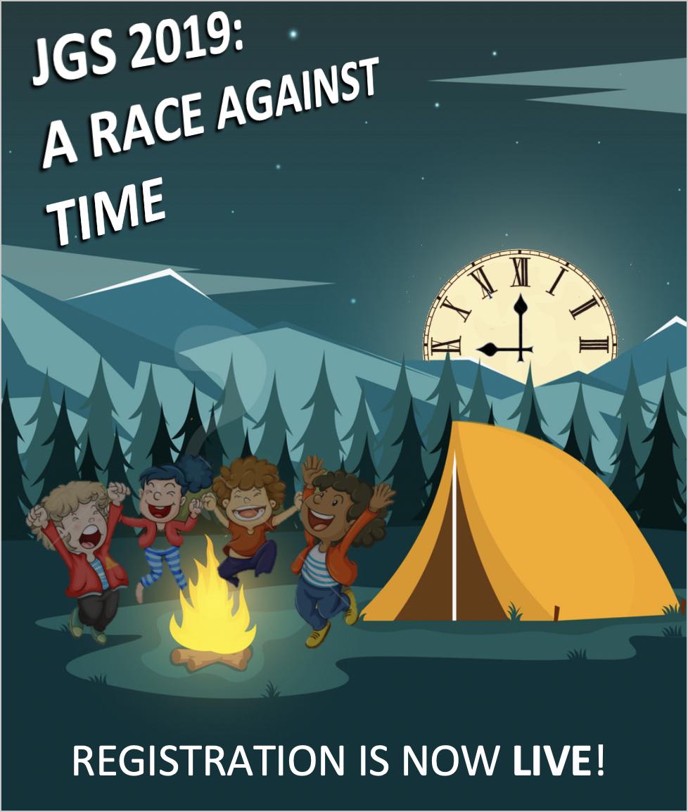 JGS 2019: A RACE AGAINST TIME